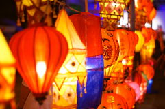 Chiang mai lanterns festival. Lantern is one of the most popular souvenir in northern Thailand Royalty Free Stock Image