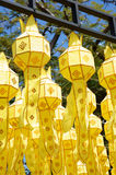 Chiang mai lanterns festival. / lantern is one of the most popular souvenir in northern Thailand Royalty Free Stock Images