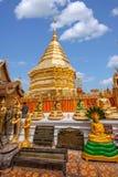 Chiang Mai, lato di stupa della Tailandia Suthep Doi Suthep Buddhist Fotografia Stock Libera da Diritti
