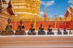 Chiang Mai, lato di stupa della Tailandia Suthep Doi Suthep Buddhist Fotografie Stock