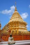Chiang Mai, lato di stupa della Tailandia Suthep Doi Suthep Buddhist Fotografia Stock