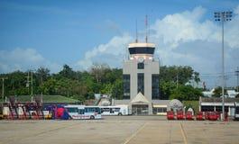 Chiang Mai lotnisko międzynarodowe w Tajlandia Obraz Royalty Free