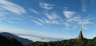 chiang mai mahathat panoramy napamethaneedol phra Thailand Obrazy Stock