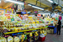 CHIANG MAI marknad Arkivbild