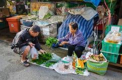 CHIANG MAI marknad Fotografering för Bildbyråer