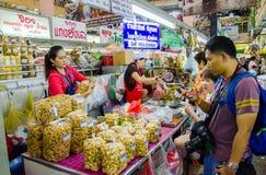 CHIANG MAI marknad Arkivfoton