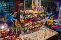 CHIANG MAI marknad Arkivfoto