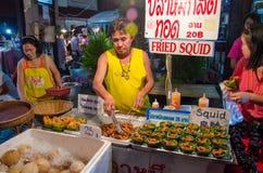 CHIANG MAI marknad Royaltyfri Fotografi