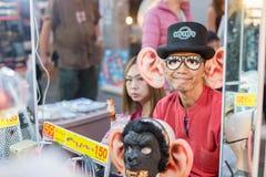 Chiang Mai marknadsnatt thailand Royaltyfri Bild