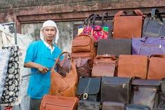 Chiang Mai marknadsnatt thailand Arkivfoton
