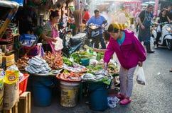 CHIANG MAI-markt Stock Foto's
