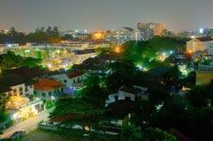 Chiang Mai natt royaltyfria foton