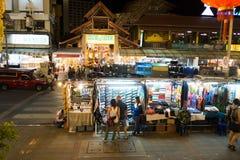 Chiang Mai Night Bazaar Lizenzfreie Stockbilder