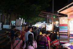 Chiang Mai Night Bazaar Stockbild