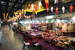 Chiang Mai Night Bazaar Stockbilder