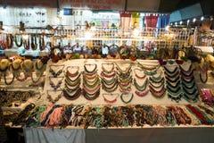 Chiang Mai Night Bazaar Stockfotos