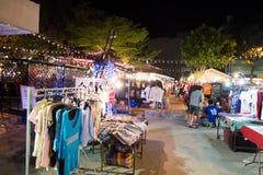 Chiang Mai Night Bazaar Lizenzfreies Stockbild