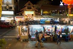 Chiang Mai Night Bazaar Royalty-vrije Stock Afbeeldingen