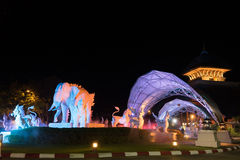Chiang mai night safari Stock Images
