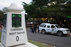 Chiang mai night safari Royalty Free Stock Image