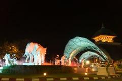 Chiang mai night safari Royalty Free Stock Photos