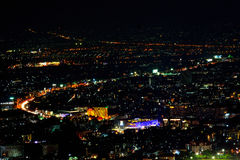 Chiang mai night view Royalty Free Stock Images