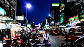 Nightlife 2. Chiang Mai nightlife Stock Images