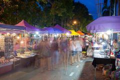 Chiang Mai nocy rynek, Tajlandia Obraz Stock