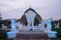 Chiang Mai nocy safari Obraz Royalty Free