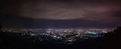 Chiang mai panorama Royalty Free Stock Photo
