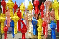 Chiang Mai-Papierlampen Stockbilder