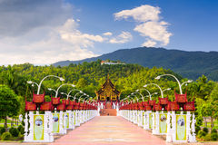 Chiang Mai Park Royalty Free Stock Photography