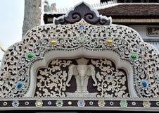 Chiang Mai pattern Thai lanna Stock Image