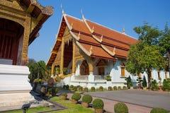 chiang mai phra singh świątynny Thailand wat obraz stock