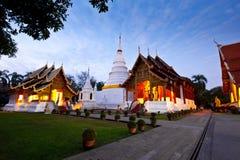 chiang mai phra singh świątynny Thailand wat Obrazy Royalty Free