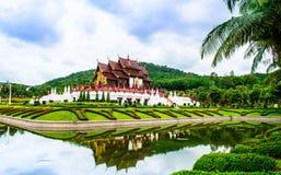 Chiang Mai Royal Garden museum. Museum in the Royal Garden Stock Photos