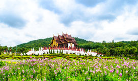 Chiang Mai Royal Garden museum. Museum in the Royal Garden Stock Images