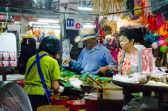 CHIANG MAI rynek Obrazy Royalty Free