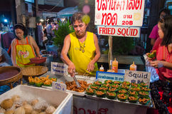 CHIANG MAI rynek Fotografia Royalty Free