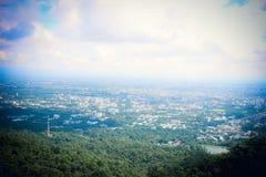 Chiang Mai sikt Arkivfoto