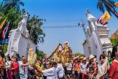 Chiang mai Songkran festival. Royalty Free Stock Photos