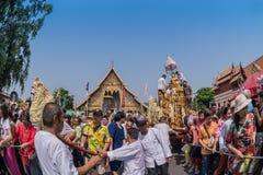 Chiang mai Songkran festival. Royalty Free Stock Images