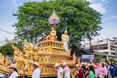 Chiang mai Songkran festival. Royalty Free Stock Photo