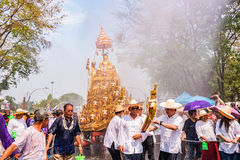 Chiang mai Songkran festival. Royalty Free Stock Photo