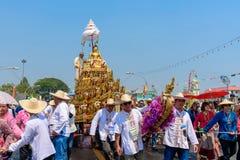 Chiang mai Songkran festiwal obraz stock