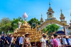 Chiang mai Songkran festiwal zdjęcie stock