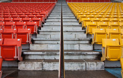 Chiang Mai Stadium Stock Image