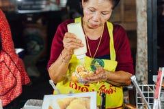 Chiang Mai-Straßenlebensmittel Lizenzfreie Stockfotografie
