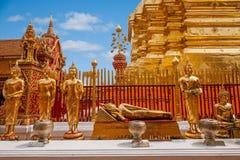 Chiang Mai, stupakant van Thailand Suthep Doi Suthep Buddhist Stock Foto's
