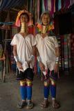 CHIANG MAI, TAILAND - 22 APRIL, 2016: Rode Karen (Karenni) Royalty-vrije Stock Fotografie